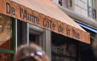 Devanture epicerie De l'Autre Côté de la Rue
