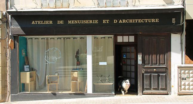 La Goupille atelier menuiserie architecture vitrine