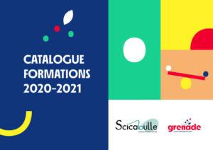 Premiere page du catalogue de formations 2020-2021 du Grenade