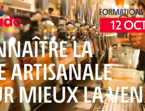 """Formation """"Connaître la bière artisanale pour mieux la vendre"""" – 12/10/20"""